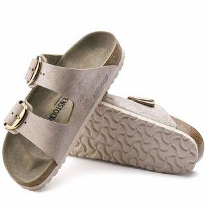 NWT Birkenstock Arizona suede rose gold sandal 7